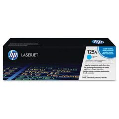 HP 125A, (CB541A) Cyan Original LaserJet Toner Cartridge