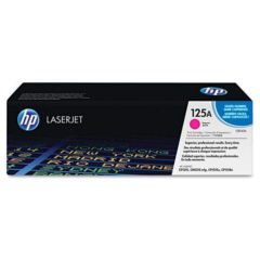 HP 125A, (CB543A) Magenta Original LaserJet Toner Cartridge