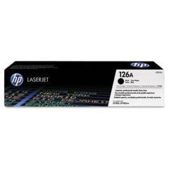 HP 126A, (CE310A) Black Original LaserJet Toner Cartridge