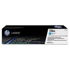 HP 126A, (CE311A) Cyan Original LaserJet Toner Cartridge