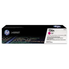 HP 126A, (CE313A) Magenta Original LaserJet Toner Cartridge
