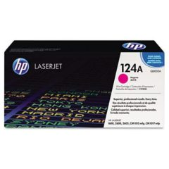 HP 124A, (Q6003A) Magenta Original LaserJet Toner Cartridge