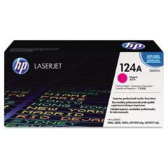 HP 124A, (Q6003A) Magenta Original LaserJet Toner Cartridge